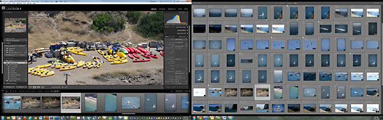 Adobe Photoshop Lightroom Dual Monitors View