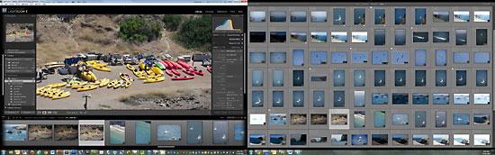 Adobe Photoshop Lightroom Dual Monitors View