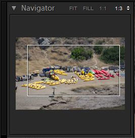 Adobe Photoshop Lightroom Navigator