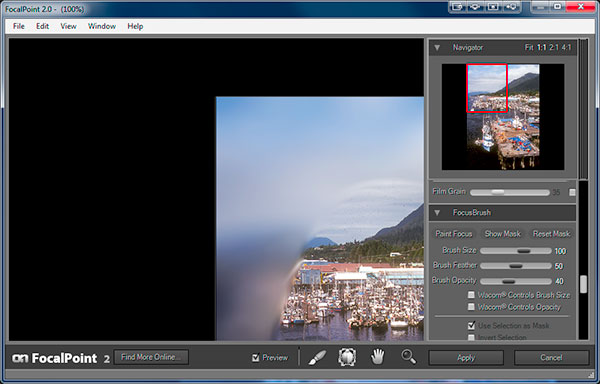 onOne Software Focal Point 2 Resize Window Bug