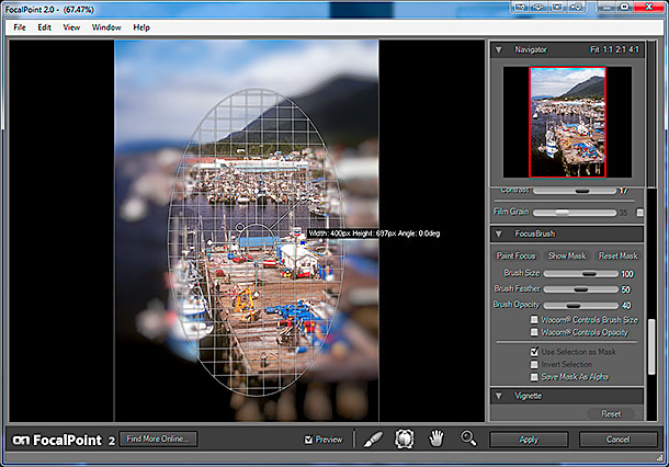 onOne Software Focal Point 2 FocusBug