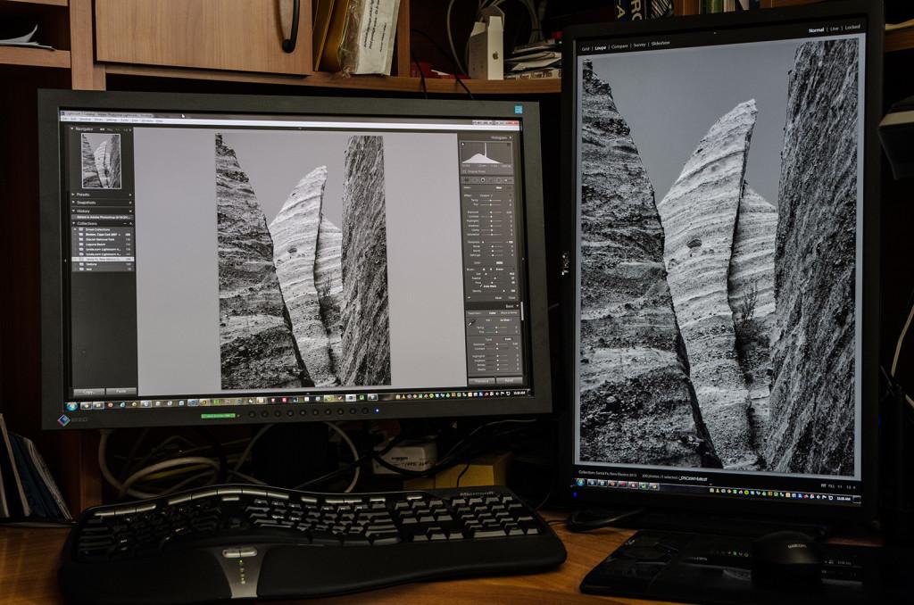 Landscape and Portrait Mode Monitors