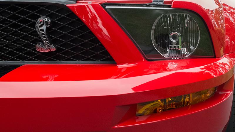 Photo of Shelby Cobra Mustang taken with Fujifilm X20 camera