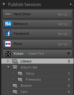 Koken's Lightroom Publishing Plugin