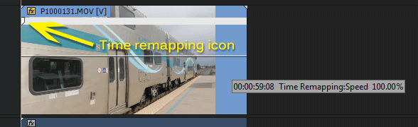 Premiere Pro Time Remapping Icon