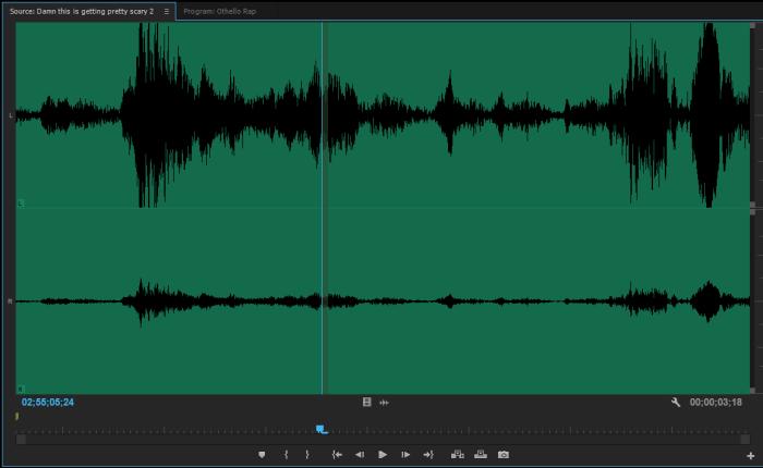 audio padding