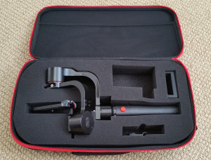 Pilotfly H1+ Gimbal Stabilizer in Carrying Case