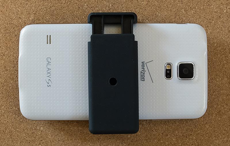 Samsung Galaxy S5 in Pilotfly Smartphone Holder