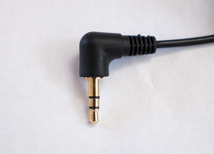 "Normal microphone with regular 1/8"" stereo plug"